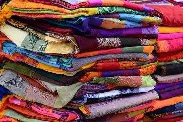 materiały tkaniny